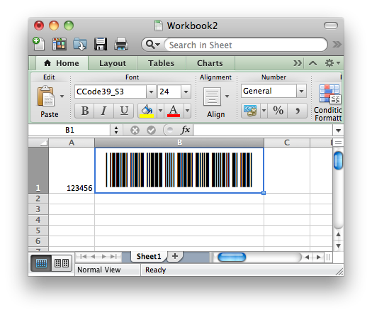 excel for the mac